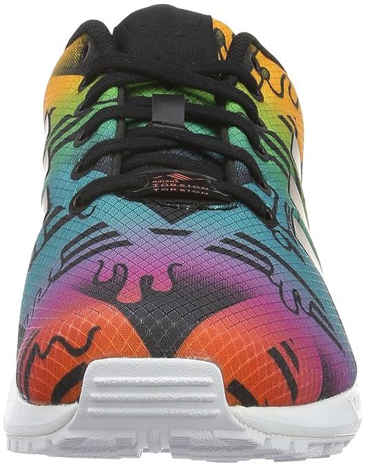 wholesale dealer cace7 987c6 adidas Men s s Zx Flux Low-Top Sneakers  Amazon.co.uk  Shoes   Bags