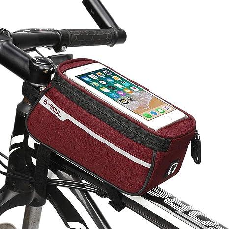 FSD-MJ Bolsa de Tubo Frontal para Bicicleta Accesorios para ...