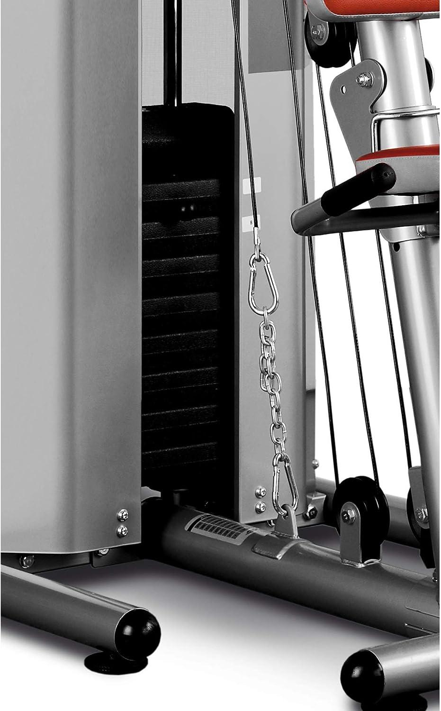 carenata BH Fitness Nevada Plus G119XA Tensione max equivalente a 100 Kg  con puleggie e cams Stazione multifunzione