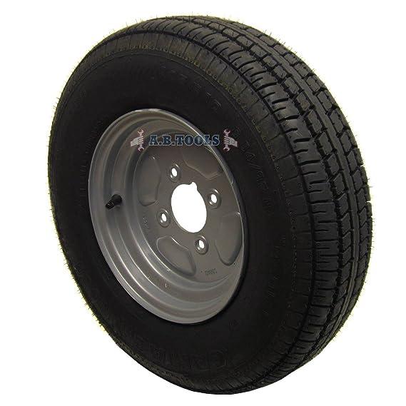 Rueda y neumático de remolque 145 x 10
