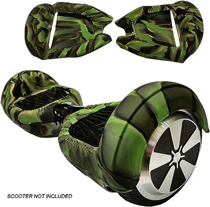 SILISKINZ/® Custodia in gelatina per silicone da 180 gradi Hoverboard Per Smart Scooter da 6,5 Swegway 2 ruote