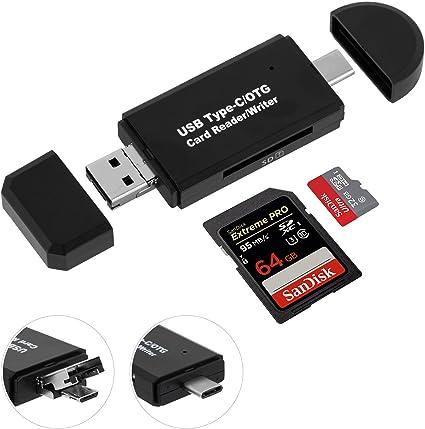 lecteur de carte mémoire Lecteur Carte SD USB Micro SD Card Reader: Amazon.fr: High tech