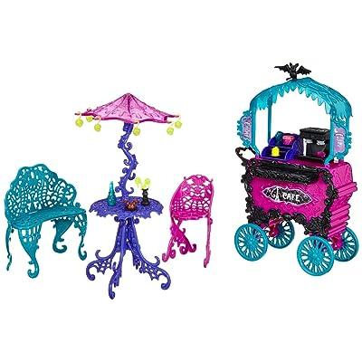 Monster High Travel Scaris Café Cart: Toys & Games