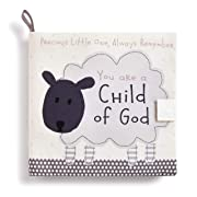 DEMDACO Child of God Lamb Children's Plush Soft Page Activity Book