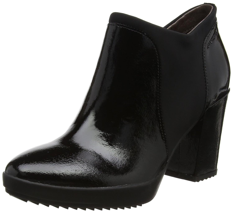 Stonefly Oprah 3 Naplack, Zapatos con Plataforma para Mujer 37 EU|Negro (Nero/Black)
