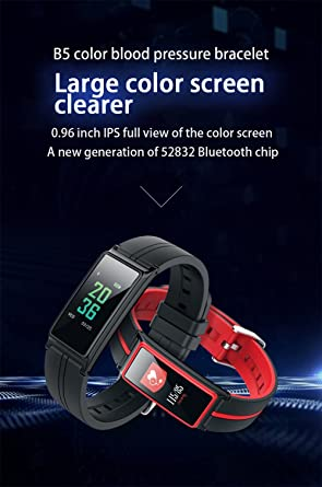 BOND Bluetooth Smart Band Heart Rate Monitor Color Touch Screen Wristband Bracelet Fitness Tracker Pedometor Pulseria