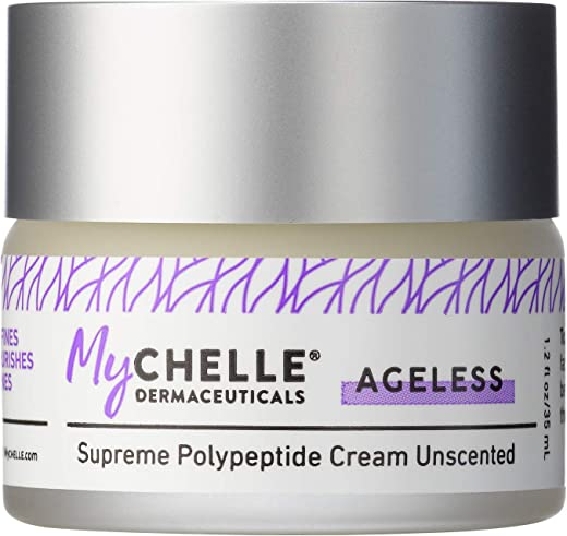 MyChelle Dermaceuticals Supreme Polypeptide Unscented- Nutrient Rich moisturizer, Anti-Aging & Firming Formula, Cruelty-Free, sulfate & Paraben Free,, 1.2 Fl Oz