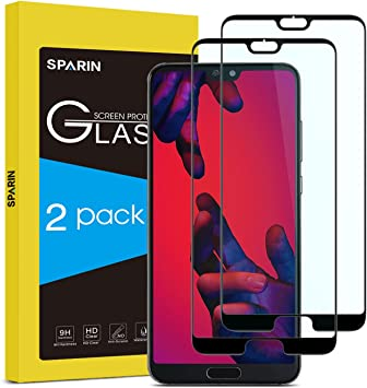 Sparin Vetro Temperato Per Huawei P20 Pro Pellicola Protettiva Huawei P20 Pro 2 Pezzi Amazon It Elettronica