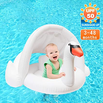 Amazon.com: Jie-channel Flotador de piscina para bebé ...