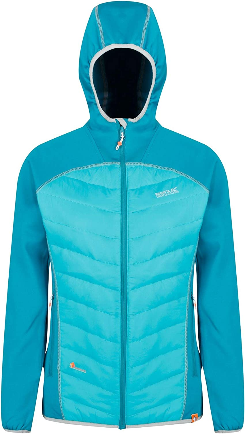 Regatta Womens Andreson Iv Lightweight Insulated and Water Repellent Hybrid Down Jacket
