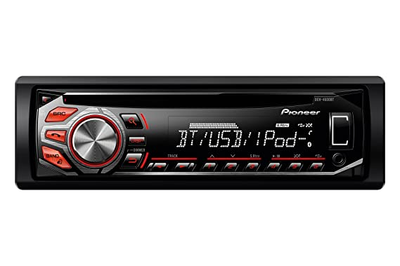 pioneer deh 4600bt rds tuner with bluetooth illuminated front usb rh amazon co uk  pioneer rds manual