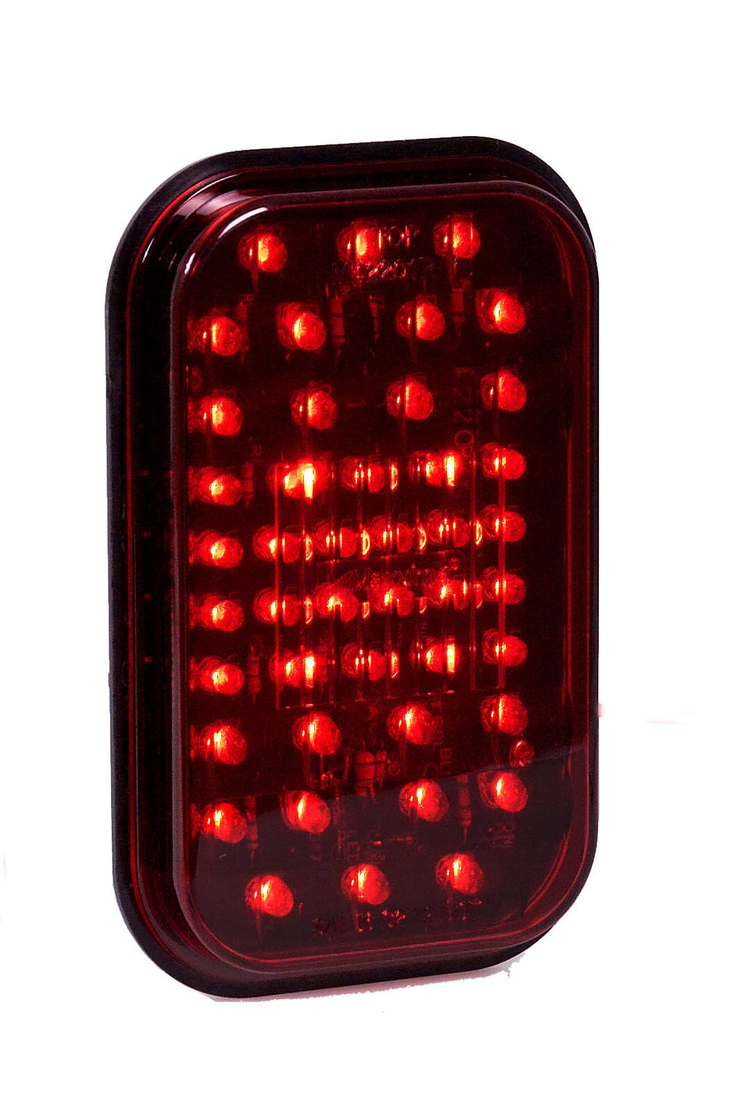 Maxxima M42201R 44 LED Red 5'' Rectangular Stop Tail Turn Light