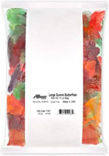 product image for Albanese Confectionery Large Gummi Butterflies, 5 Pound Bag - PACK OF 3