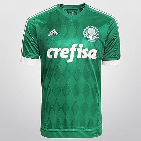 Adidas Camiseta 2015 Palmeiras I sin Numero, Verde