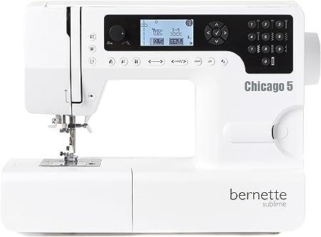 Bernette Máquina de Coser Chicago 5 - Swiss Design - Quilt e ...