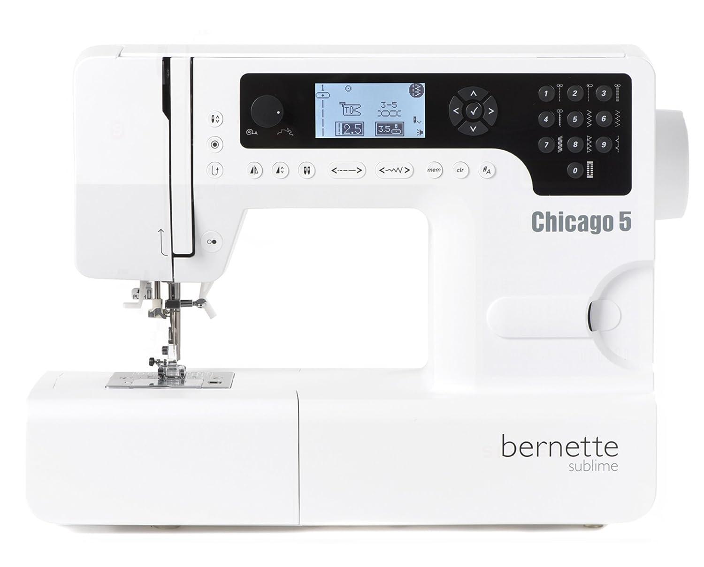 Bernette Nähmaschine Chicago 5 mit 200 Programmen - Quilten ...