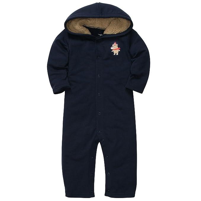 287e2cf49 Amazon.com  Carter s Baby-Boys  1 Pc Sherpa Lined Hooded Fleece ...