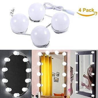 B-right Luz de Espejo Bombillas, Luces de Espejo Bombillas para Espejo de Maquillaje