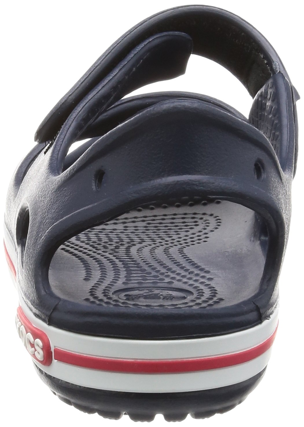 Crocs Kid's Boys and Girls Crocband II Sandal | Pre School, Navy/White, 5 M US Toddler by Crocs (Image #2)