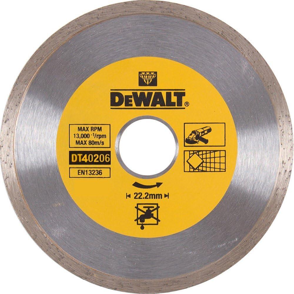 DeWalt DT40206-QZ Diamond Blade continuous 180mm//22.2mm