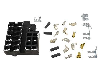 amazon com 1964 1966 corvette c2 fuse block repair kit automotive Electrical Fuse Box Parts