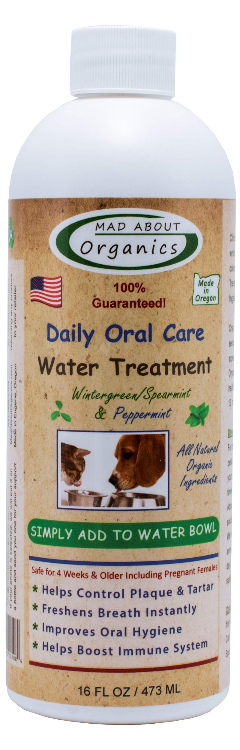 Mad About Organics Daily Oral Care Water Treatment 16oz