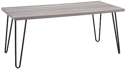 Brand new Amazon.com: Ameriwood Home Owen Retro Coffee Table with Metal Legs  OV59