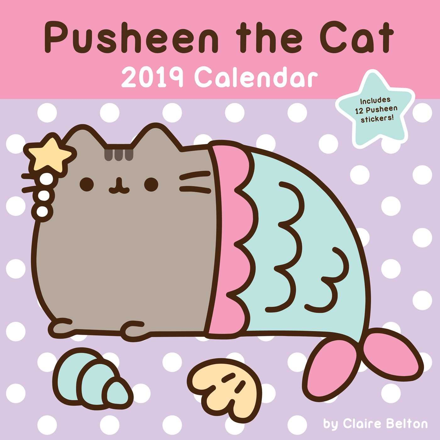 Pusheen the Cat 2019 Wall Calendar: Amazon.es: Claire Belton ...