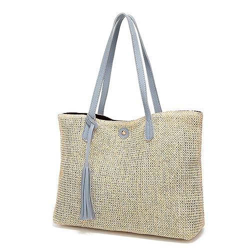 Tian Ran Dai Tote del bolso de hombro clásico de la playa de la paja de la playa de las mujeres clásicas del verano venta caliente