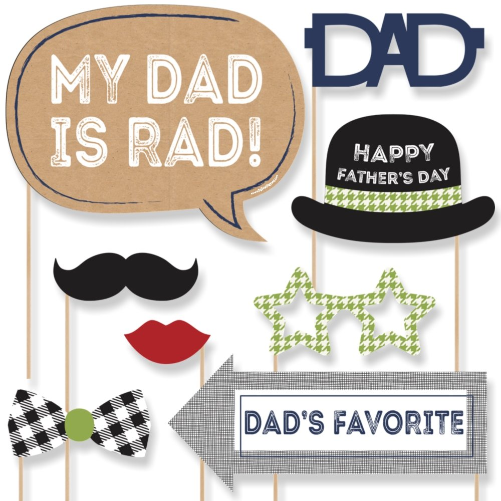 9a42697de3d Amazon.com  Big Dot of Happiness  Father s Day Party