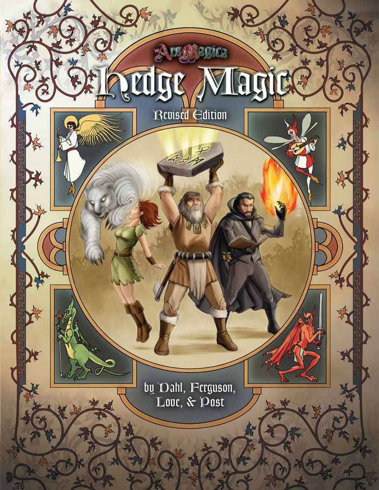 Read Online Hedge Magic Revised Edition (Ars Magica Fantasy Roleplaying) pdf