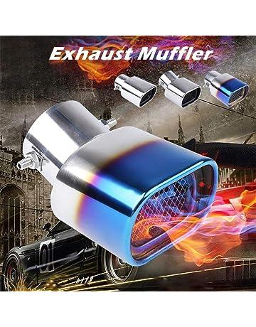 DJHFJ Tubo de Escape de Silenciador Terminales tubo de escape Escape Universal de Coche escape coche
