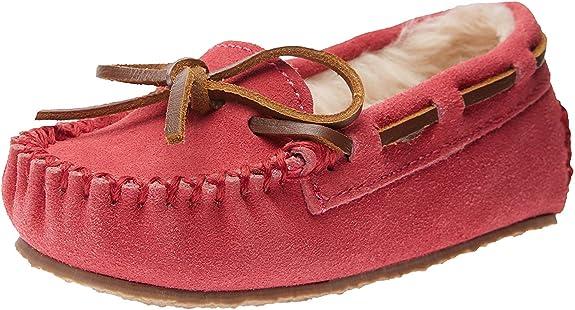 Minnetonka Cassie Slipper (Toddler/Little Kid/Big Kid),Hot Pink,12 M US Little Kid best kids' slippers