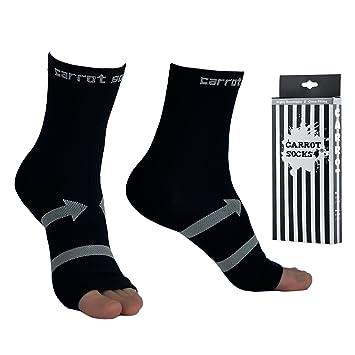 La fascitis plantar de EveShine (1 par), calcetines de compresión del calcetín de