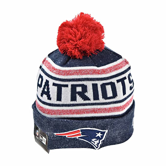 558bd072da6 New England Patriots New Era NFL  quot Toasty Cover quot  Cuffed Knit Hat  with Pom