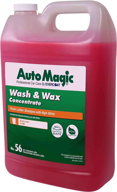 自动魔术洗涤和蜡洗车肥皂
