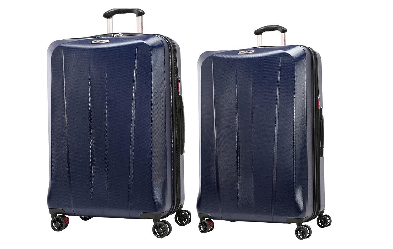 Stellar Navy 26 And 30 Ricardo Beverly Hills San Clemente 2 Piece Spinner Luggage Set