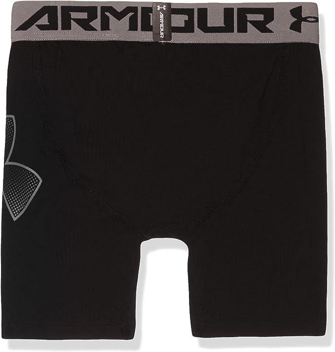 Under Armour Boys HeatGear Armour Short Sleeve T-Shirt 004 Youth X-Small //Pitch Gray Black