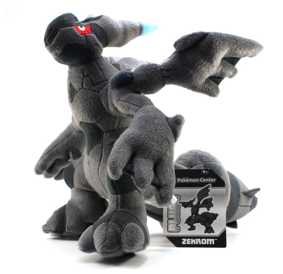12''  Zekrom Pokemon Center Plush by Pokemon