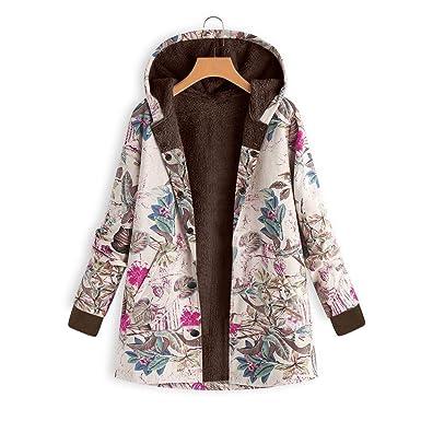 POLP Abrigos mujer Corto Sueter Cardigan Mujeres Suelto algodón Caliente Grueso Casual Chaquetas largas Jacket Hoodie
