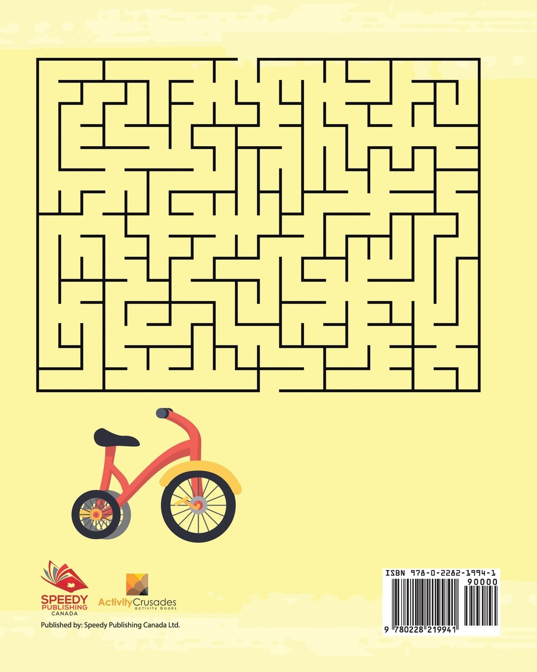 Juegos De Bicicleta : Laberintos Para Niños (Spanish Edition): Activity Crusades: 9780228219941: Amazon.com: Books