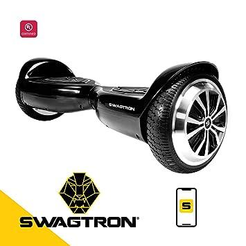 Amazon.com: Swagtron Swagboard T5 Hoverboard de nivel de ...