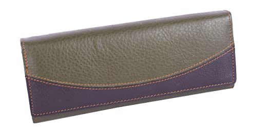 d44727a19674 Buy SUMANNYA Genuine Leather Executive Ladies Girls Clutch (Green) Online  at Low Prices in India - Amazon.in
