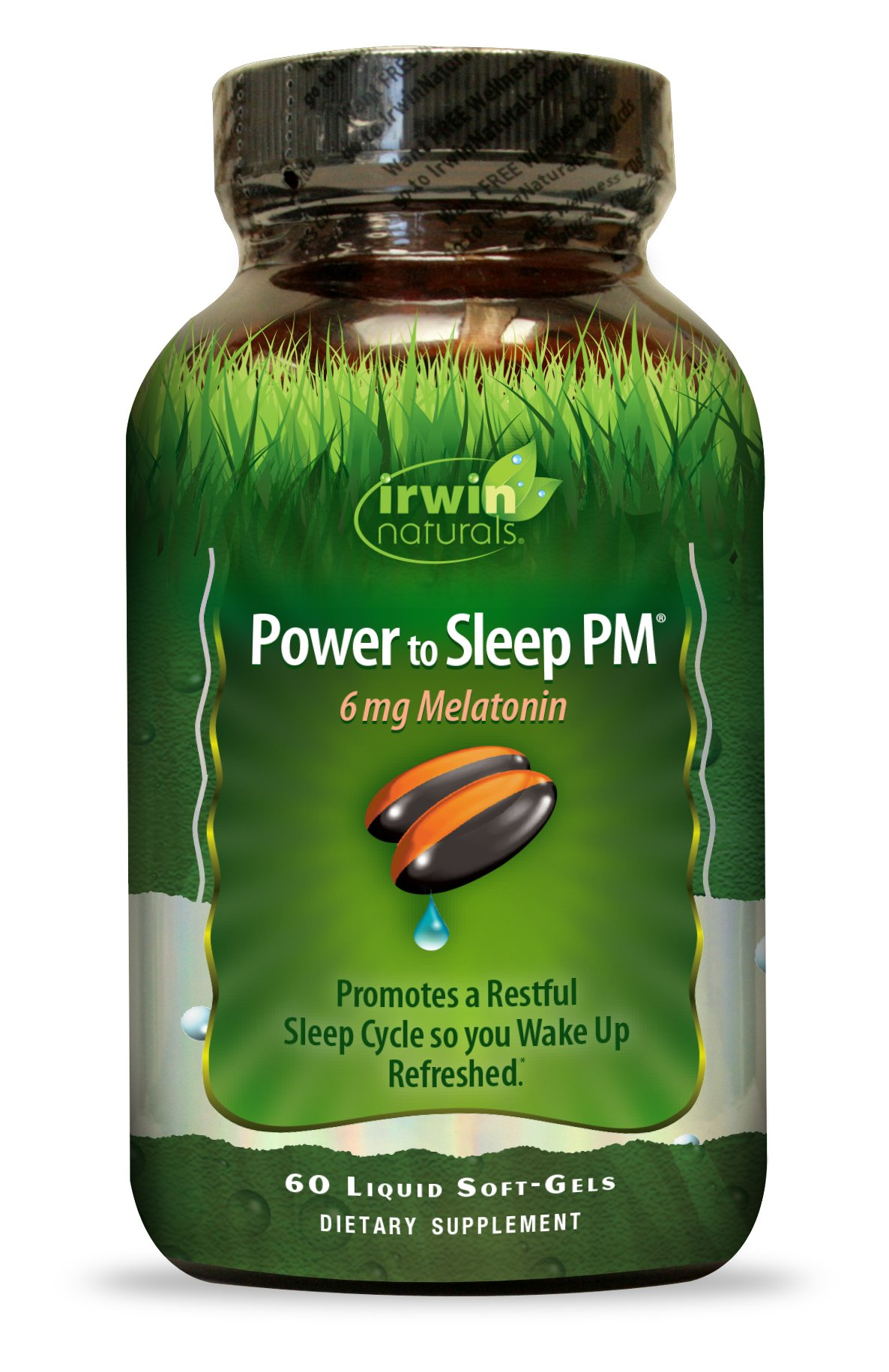 Irwin Naturals Power To Sleep PM Melatonin Supplement, 60 Count