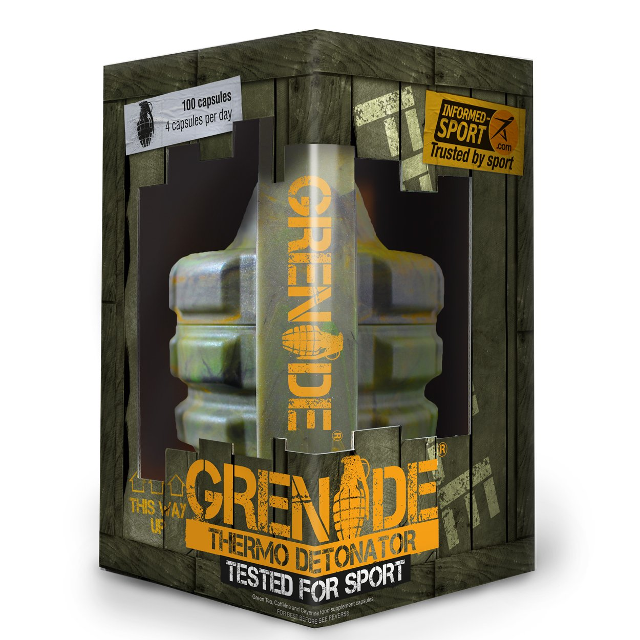 Grenade Fat Burner 100 caps (Informed Sports version)