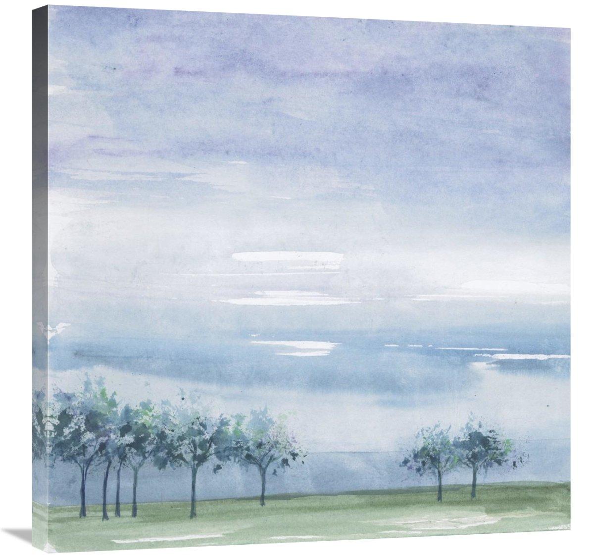 Global Gallery Chris Paschke Rain on The Plain Canvas Artwork 30 x 30