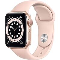 Apple Watch Series 6 (GPS) • 40 mm aluminiumboett guld • sportband sandrosa – standard