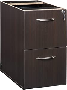 """Mayline Aberdeen 20""""D Pedestal FF,for use with Credenza, Return, and Extended Corner, sold separately, Mocha Tf"""