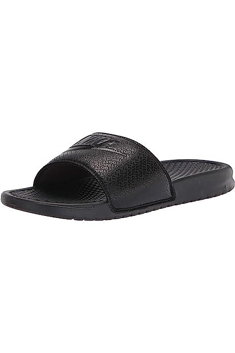 Nike Benassi Jdi Unisex Navy White Synthetic Slide