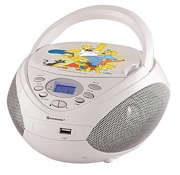 Soundmaster Scd3750ds Die Simpsons Radiocd Player Mit Resume